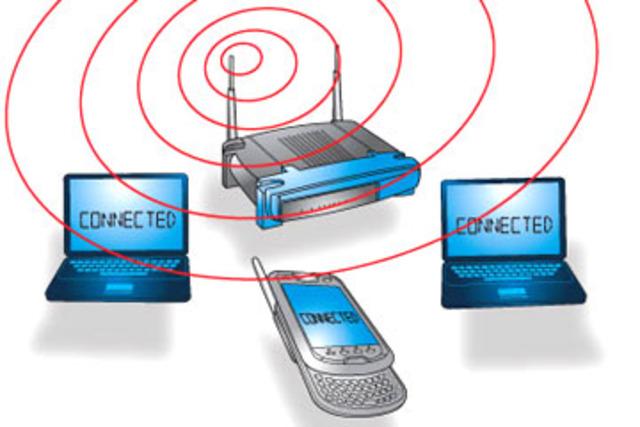 Wireless net work set up