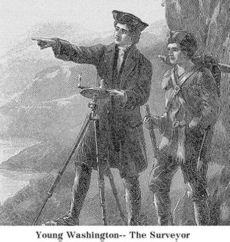 George Washington became the Official Surveyor of Virginia's Culpeper Country