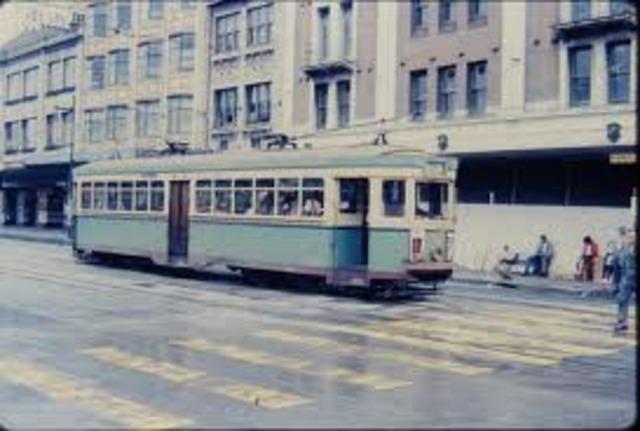 Last tram in sydney