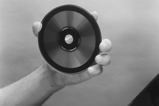 The compact disk invented by James Russell.
