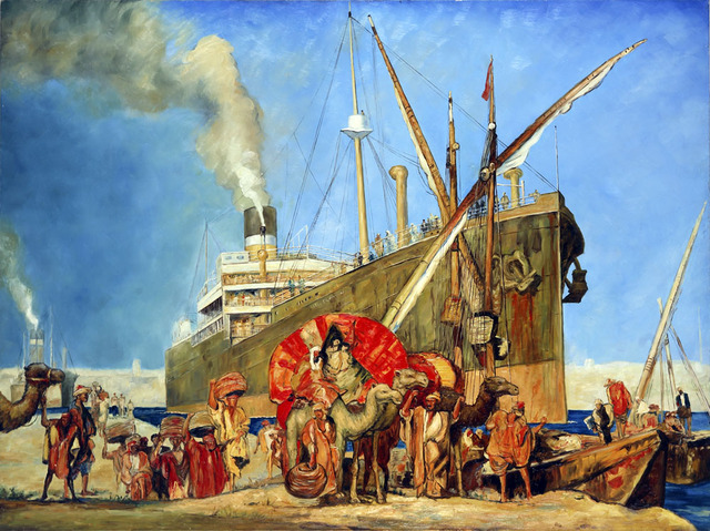 Great Britan Purchases the Suez Canal