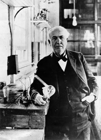 Thomas Edison's Invention of the Incandescent Lightbulb