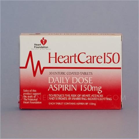 HeartCare Aspirin Tablets