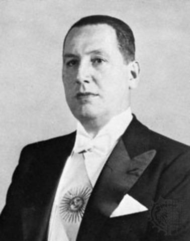 Juan Peron presidente