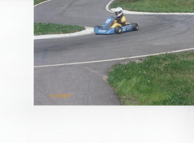 ma première de course