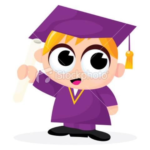 to watch my kids graduation