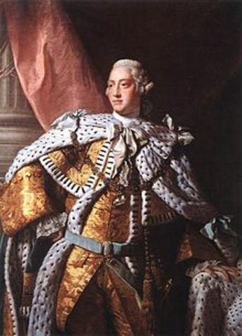 (History) George III is crowned king