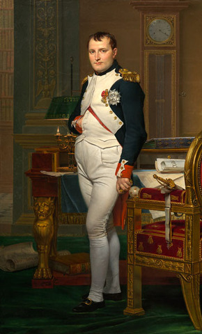 (History) Napoleon heads the government of France