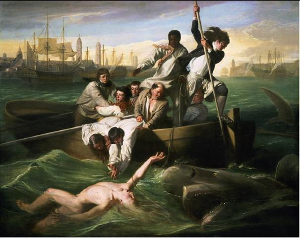 Watson and the Shark, John Singleton Copley