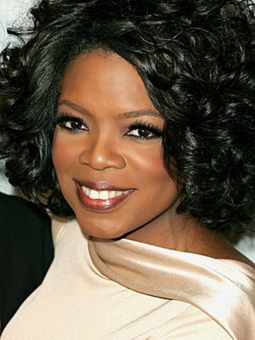 Thought of choosing Oprah as my hero