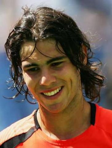 Changed my hero to tennis player, Rafael Nadal