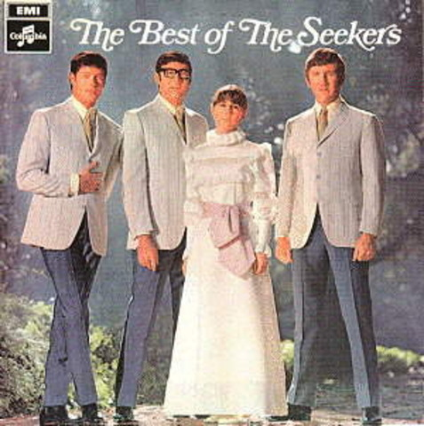 The Seekers are named Australians of the Year for 1967.