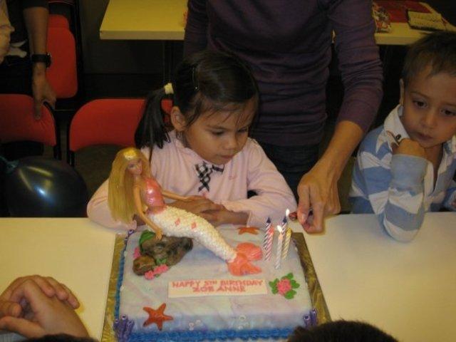 My 5th Birthday Party