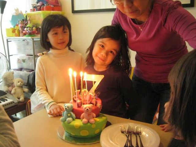 My 7th birthday party