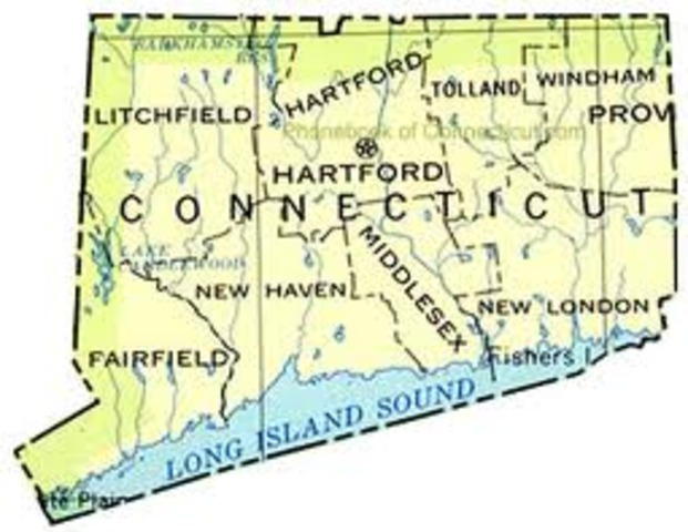 Connecticut founded