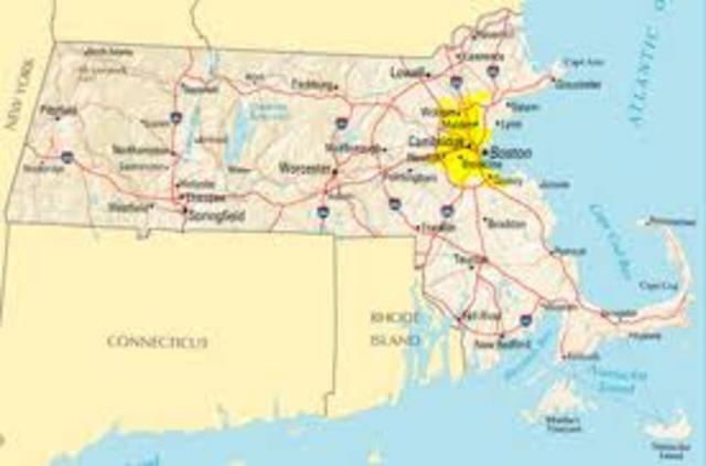 Massachusetts founded