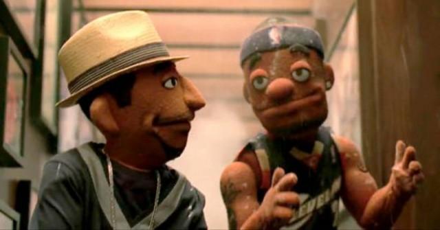 LeBron James and Kobe Bryant Puppets