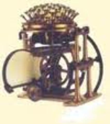 Maquina patentada