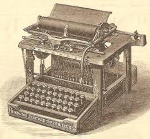 La máquina de escribir Remington