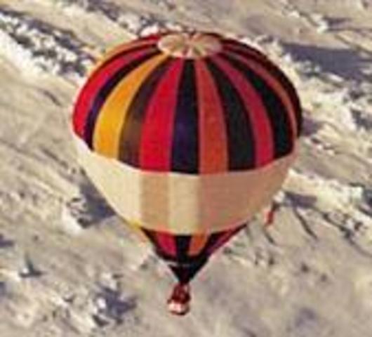 """""""Η πρώτη πτήση με αερόστατο"""""""