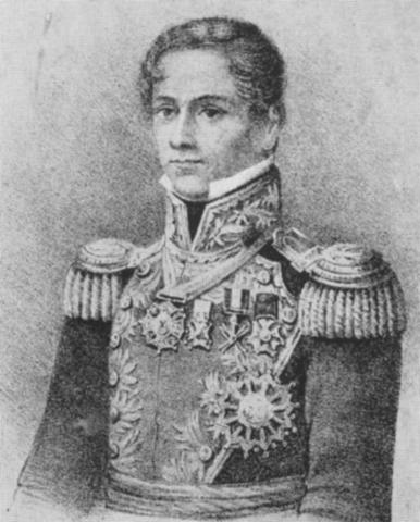 Santa Anna Takes of Mexican Government