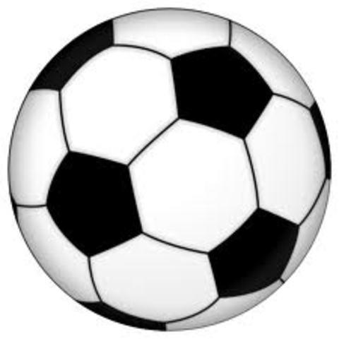 Yo practice futbol