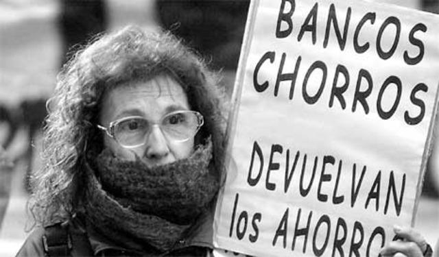 Inmigración argentina y El corralito