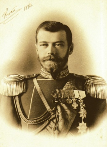 Nicholas II comes into power