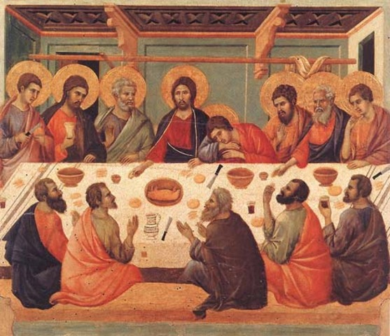 The last Supper by Giotto