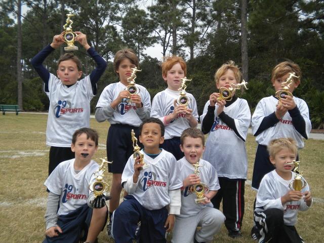Flag football champions