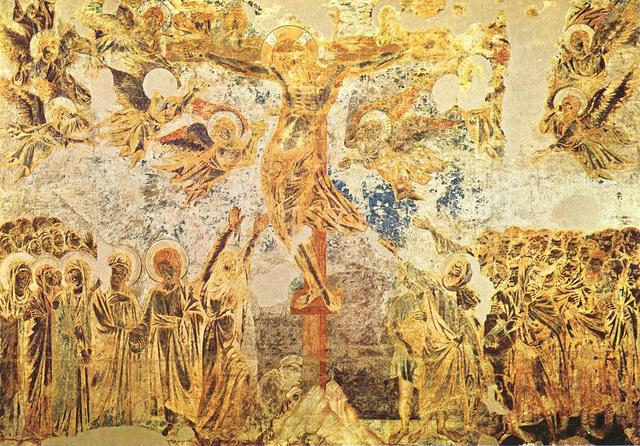 Church of San Francesco in Assisi by Cimabue