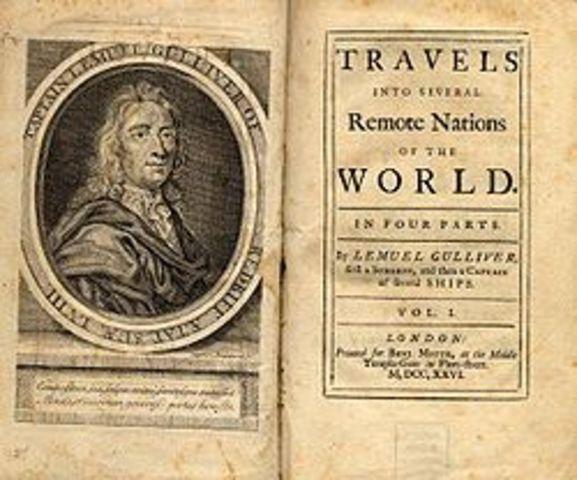 (Literature) Jonathan Swift publishes Gulliver's Travels