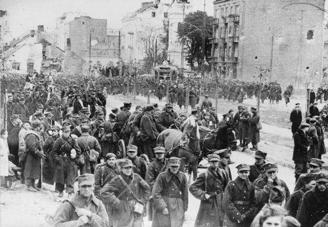Warsaw is captured