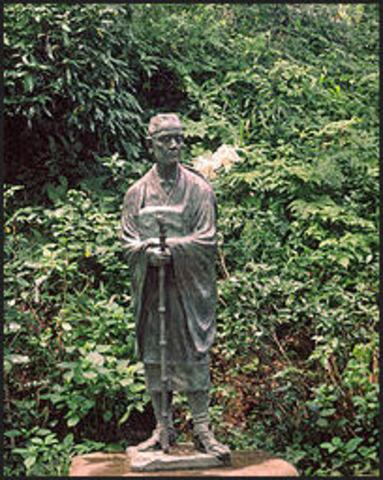 (Literature) Poems of Bashō help popularize haiku poetry in Japan
