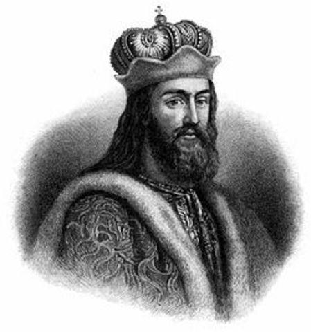 Death of Grand Prince Vladimir of Kiev