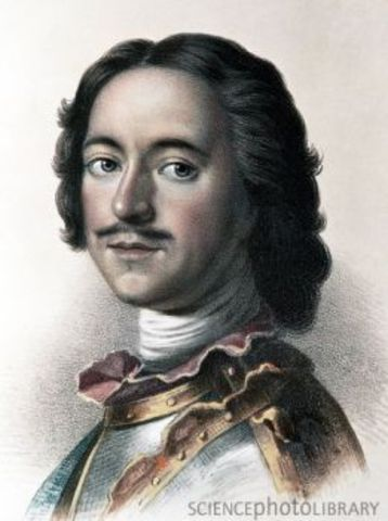 Death of Peter the Great