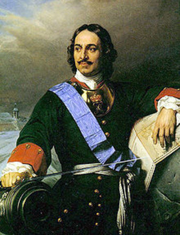 Peter I (The Great) 1682-1725