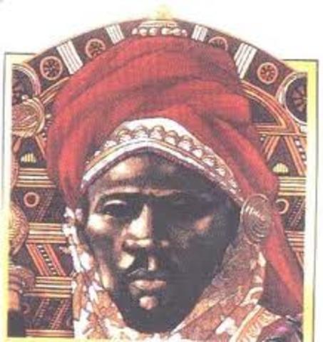 (Songhai) Muhammad Ture Desition