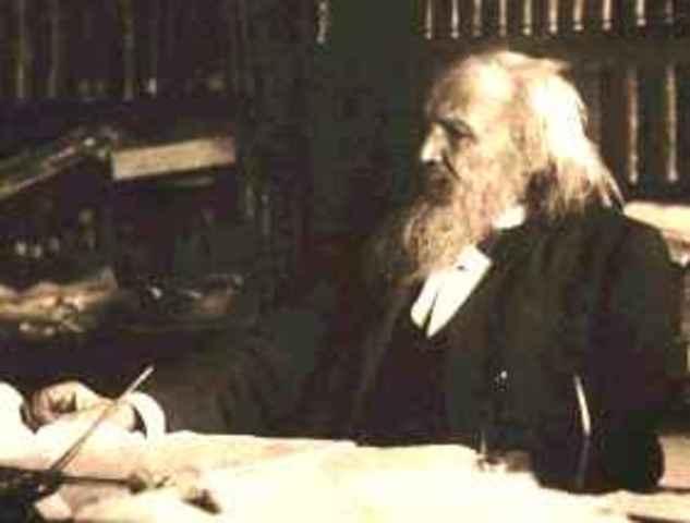 Dmitri Mendeleev