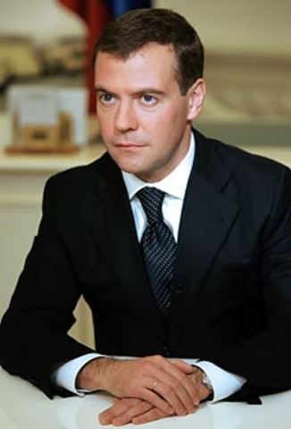 Dmitri Medvedev Elected President