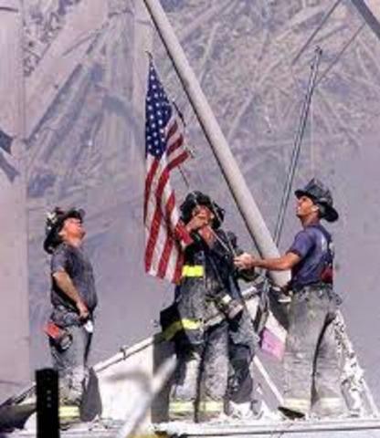 911 terrorist attacks on the US.