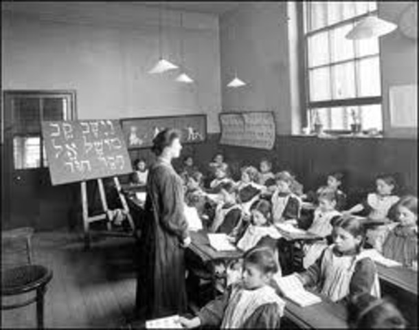 """The first """"free school"""" in Virginia opened."""
