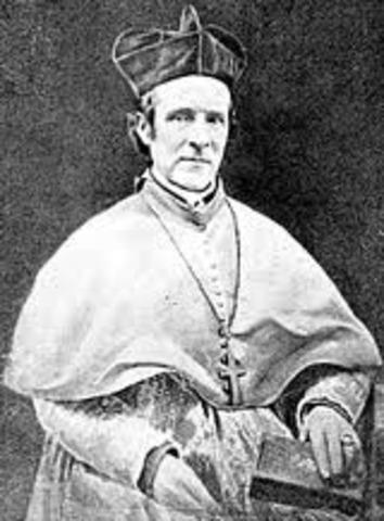 John Hughes was elected to NYC's archbishop.