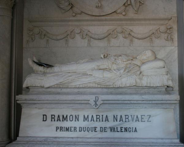 Muere el General Narváez