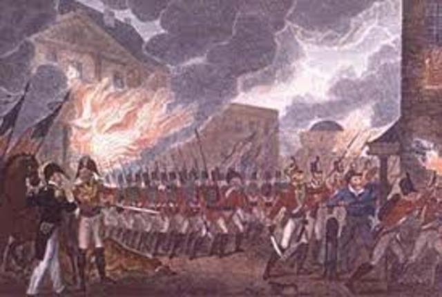 Burning of York