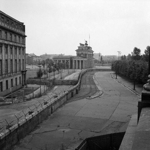 Berlin Wall Construction Starts