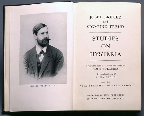 """Freud and Breuer Publish """"Studies of Hysteria"""""""