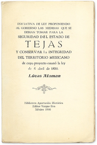 Law of April 6th, 1830