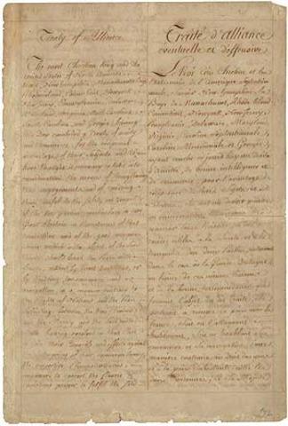 Treaty of Alliance with France - Olivia Williamson