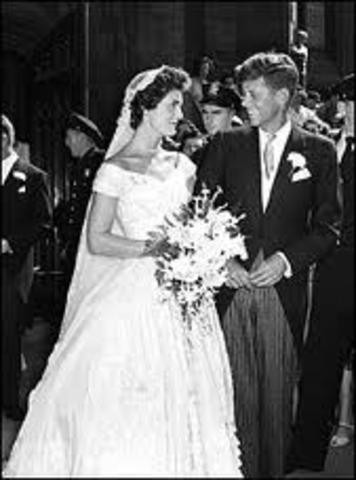 Marriage to Jackie Kennedy